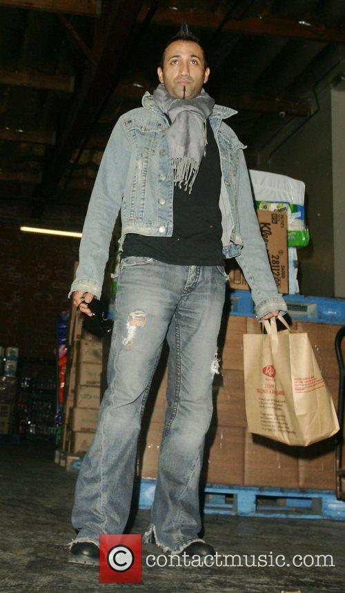 Adnan Ghalib leaving after shopping at Ralphs Los...