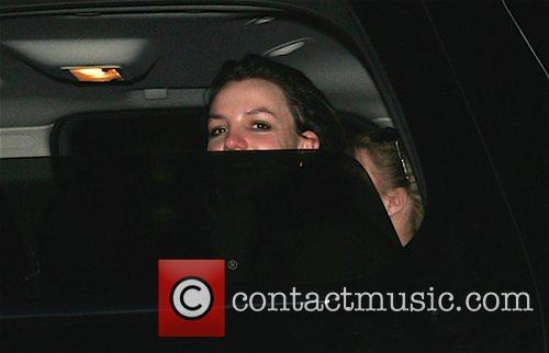 Britney Spears leaving a dance studio Los Angeles,...