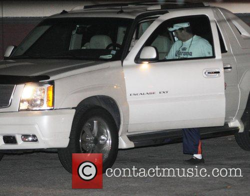Arriving at 'Millennium Dance Complex' in North Hollywood...