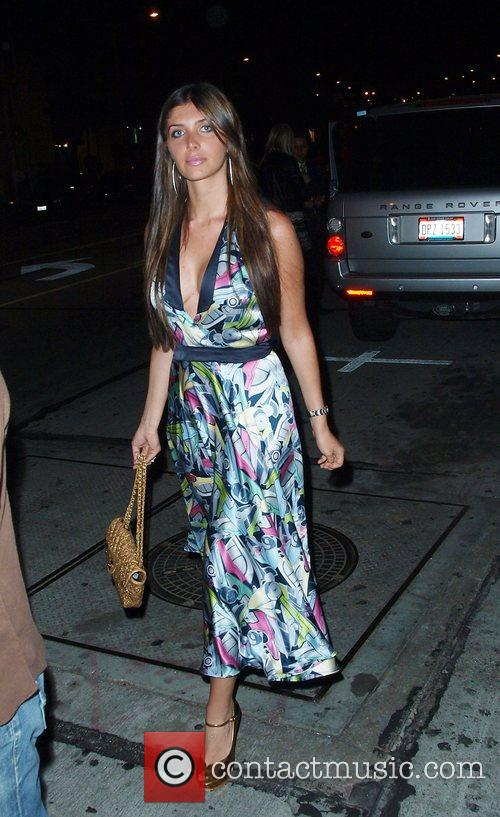 Brittny Gastineau leaving West Hollywood's Villa Lounge