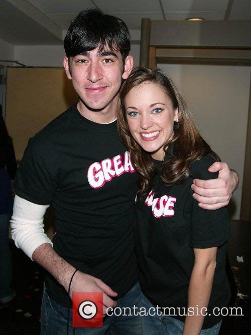 Max Crumm, Laura Osnes 16th annual Broadway on...