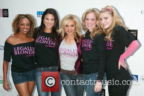 Orfeh & the cast of Legally Blonde 16th...
