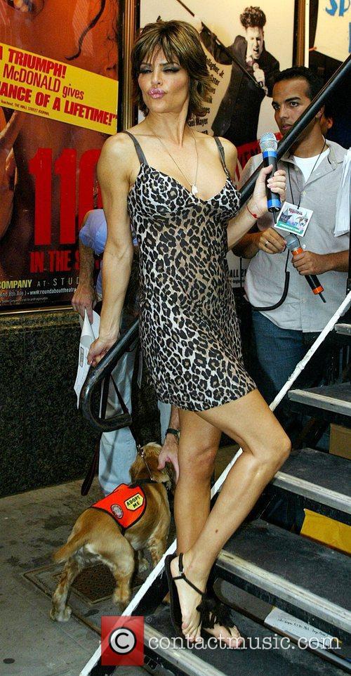 Lisa Rinna Broadway Barks 9 benefit event in...
