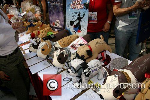 Atmosphere 9th Annual Broadway Barks at Shubert Alley,...
