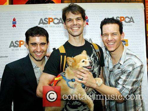 The cast of Jersey Boys Broadway Barks 9...