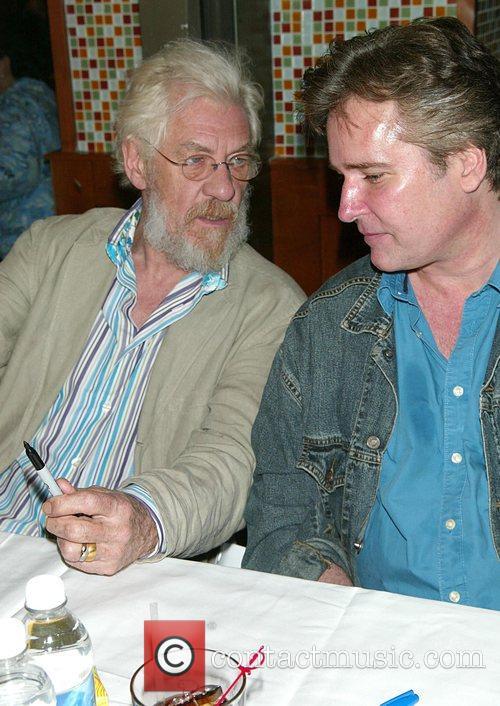 Ian Mckellen and Flea 6