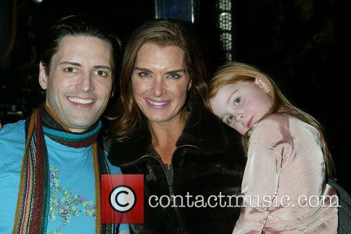 Sean Palmer (Prince Eric) with Brooke Shields &...