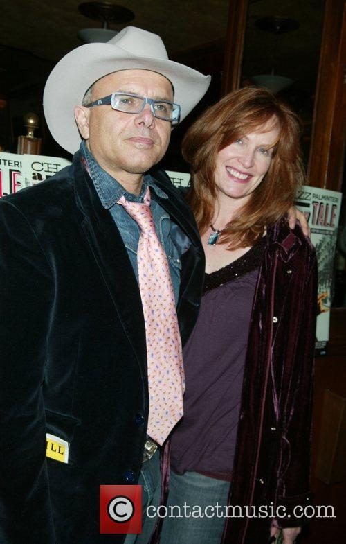 Joe Pantoliano and wife Nancy Sheppard Opening night...