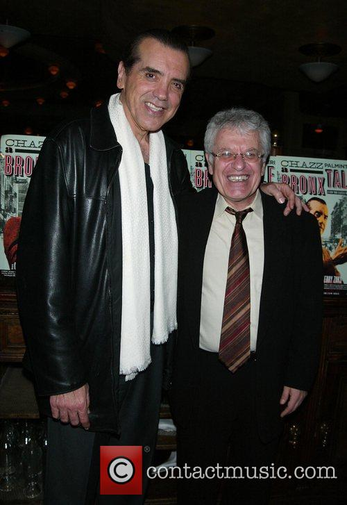 Chazz Palminteri and Jerry Zaks Opening night of...