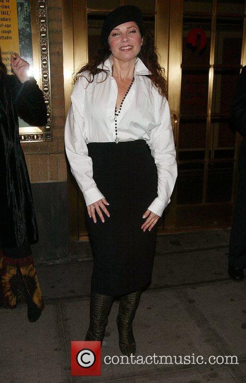Fran Drescher Opening night of 'A Bronx Tale'...