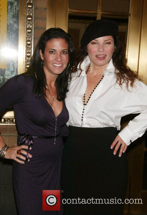 Emily Frances and Fran Drescher Opening night of...