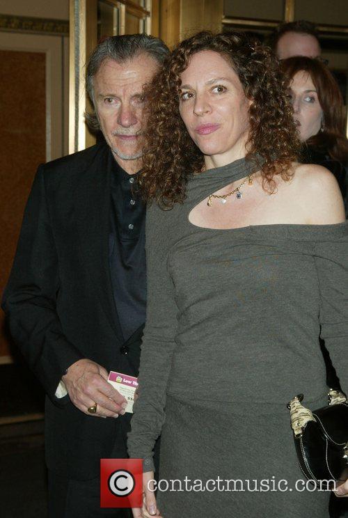 Harvey Keitel & Daphne Kastner Keitel Opening night...