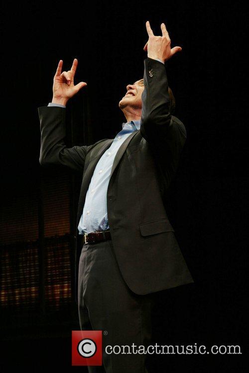Chazz Palminteri Opening night of 'A Bronx Tale'...