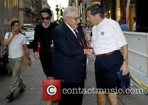 Henry Kissinger, Nancy Kissinger The funeral of Brooke...