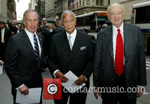 Mayors Micheal Bloomberg, David Dinkins, Ed Koch The...