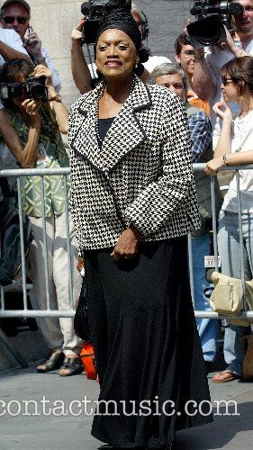 Jessye Norman The funeral of Brooke Astor at...