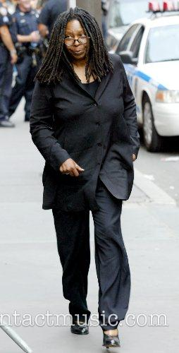 Whoopi Goldberg The funeral of Brooke Astor at...
