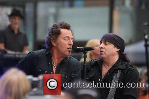Bruce Springsteen and Steven Van Zandt Bruce Springsteen...