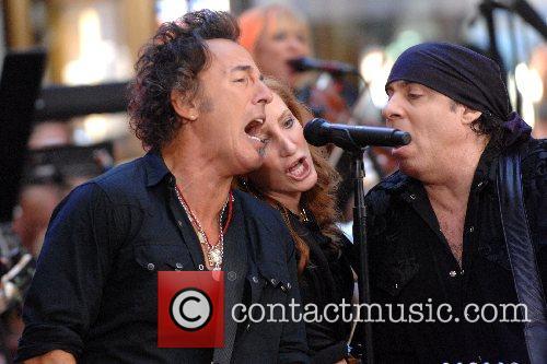 Bruce Springsteen, Patti Scialfa and Steven Van Zandt...