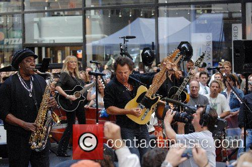 Clarence Clemons, Soozie Tyrell and Bruce Springsteen Bruce...