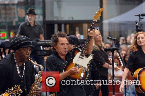 Clarence Clemons, Bruce Springsteen and Patti Scialfa Bruce...