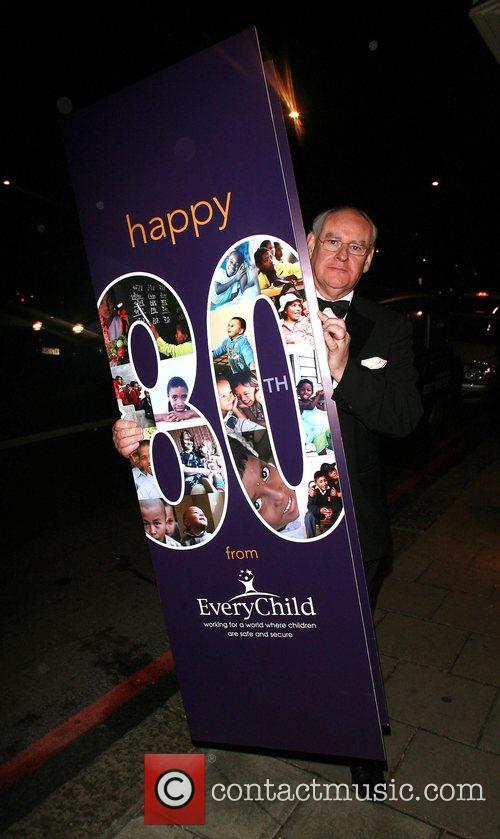Bruce Forsyth's 80th Birthday celebrations at the Dorchester...