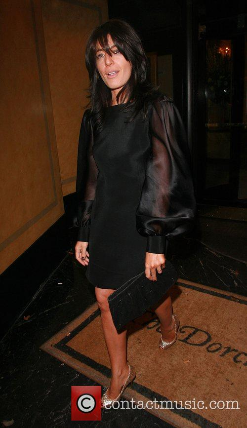 Claudia Winkleman Bruce Forsyth's 80th Birthday celebrations at...