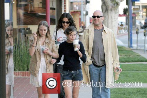 Bruce Willis and Stella Mccartney 15