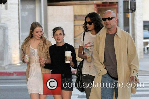 Bruce Willis and Stella Mccartney 3