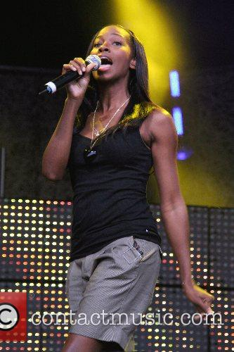 Jamelia (aka Jamelia Niela Davis) performing at the...