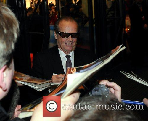 Signing autographs at the German premiere of The...