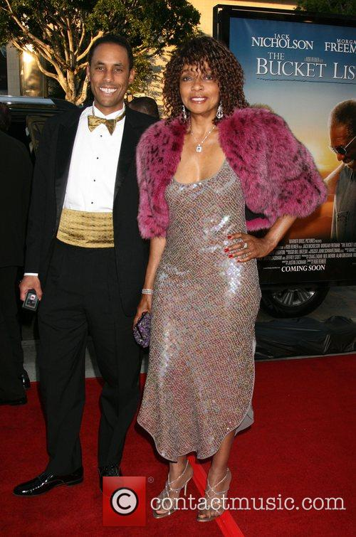 Beverly Todd and Guest Los Angeles film premiere...