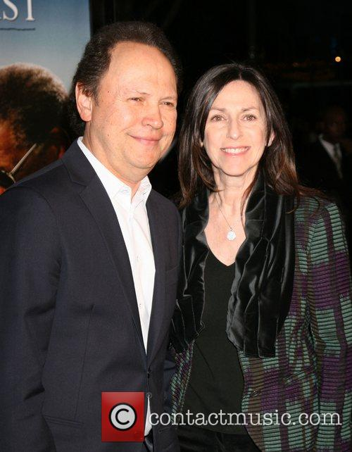Billy Crystal and wife Janice Crystal Los Angeles...