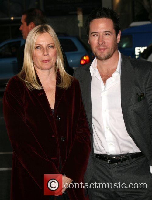 Debbon Ayer and Rob Morrow  Los Angeles...