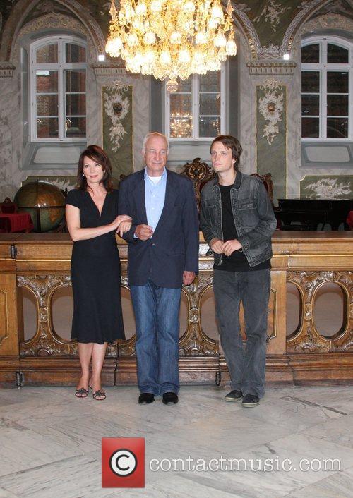 August Diehl, Iris Berben and Armin Mueller-stahl