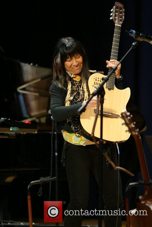 Academy Award winner native American entertainer Buffy Sainte-Marie...