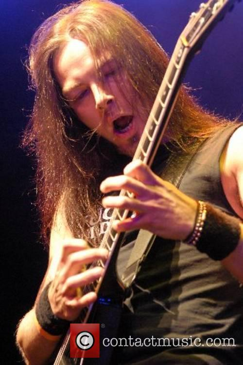 Padge from Bullet For My Valentine performing live...