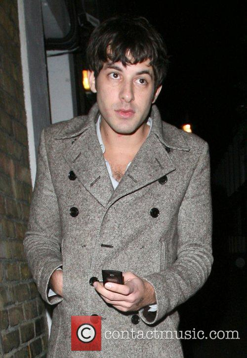 Mark Ronson and A Mystery Woman Looking Rather Worse For Wear Leaving Bungalow 8 Nightclub. 5