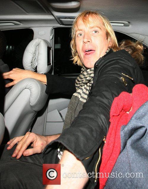 Sienna Miller leaving Bungalow 8 Nightclub with boyfriend...