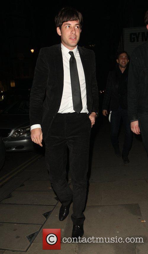 Mark Ronson at Bungalow 8 nightclub London, England