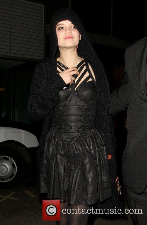 Pixie Geldof at Bungalow 8 nightclub London, England