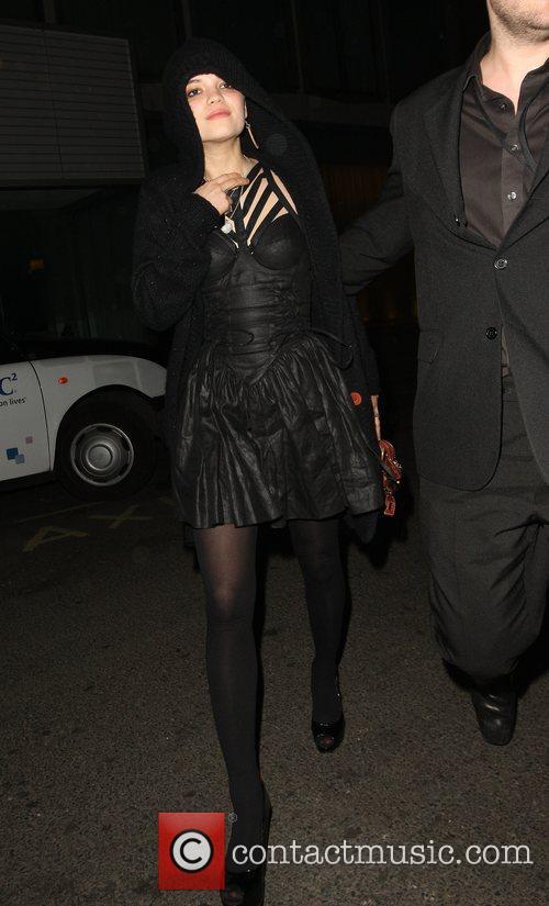 Pixie Geldof at Bungalow 8 nightclub