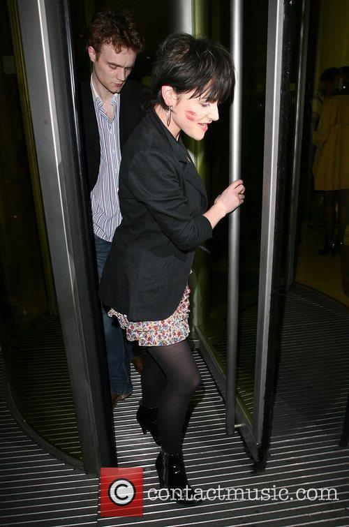 Jaime Winstone leaving Bungalow 8 nightclub at 4am,...