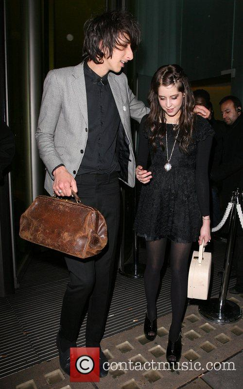 Peaches Geldof and Horrors frontman boyfriend Farris Rotter...