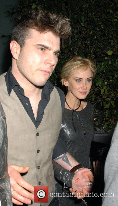 Kimberly Stewart leaving Bungalow 8 nightclub  London,...