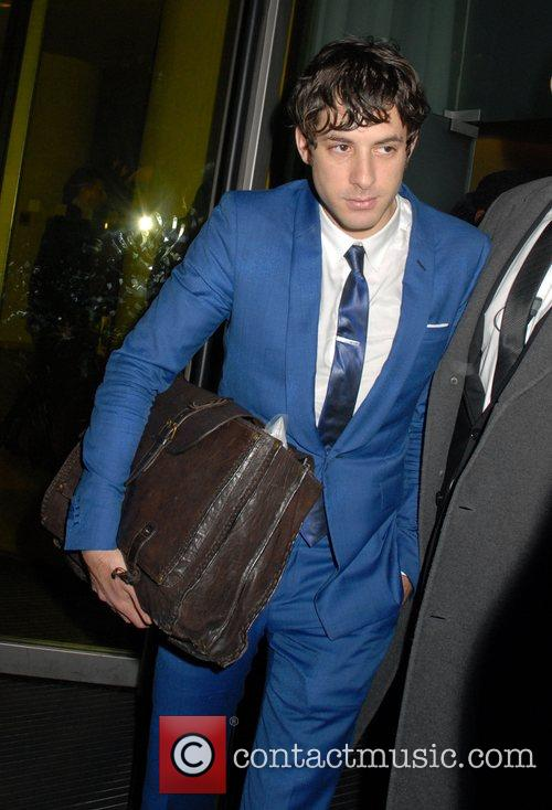 Mark Ronson leaving Bungalow 8 nightclub  London,...