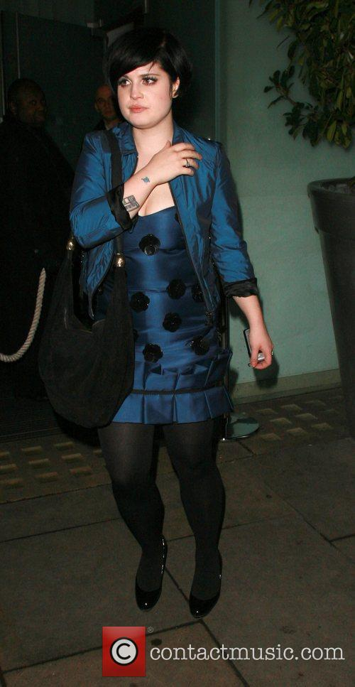 Kelly Osbourne arrives at the Bungalow 8 club...