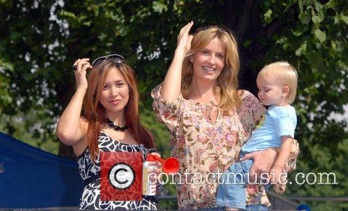 Myleene Klass and Penny Lancaster BUPA Capital 10K...