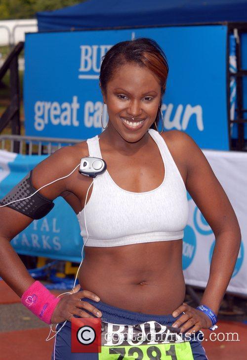 BUPA Capital 10K race in Hyde Park