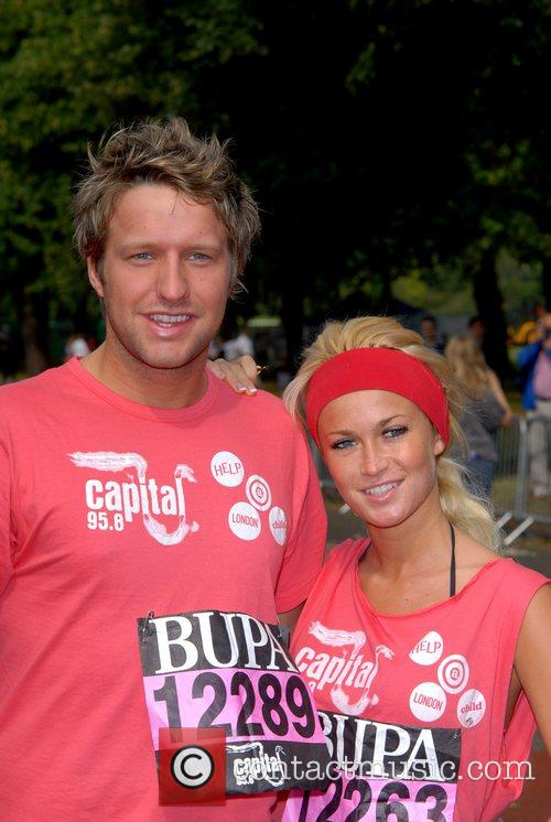 Love Island Contestants BUPA Capital 10K race in...